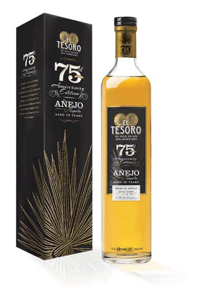 El Tesoro 75th Anniversary Tequila
