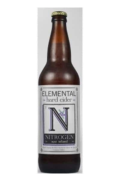 Elemental Hard Cider Nitrogen Acai