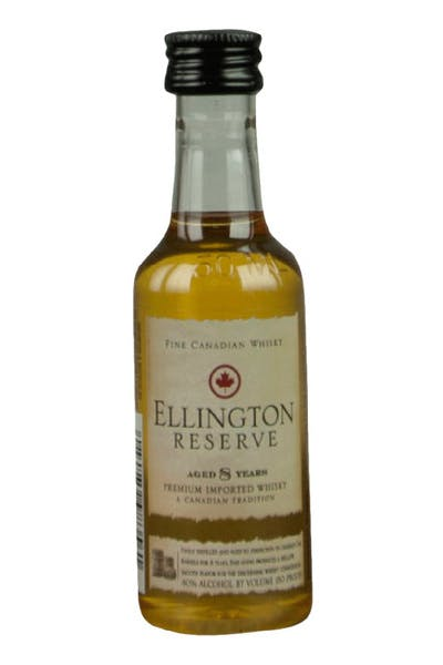Ellington Reserve 8 Year Canadian Whisky
