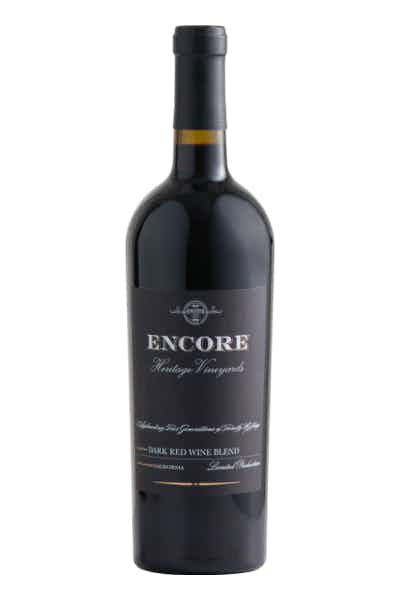 Encore Dark Red Blend