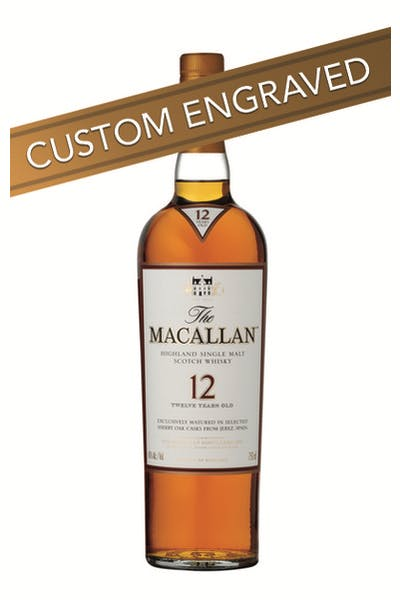 * ENGRAVED The Macallan 12 Year