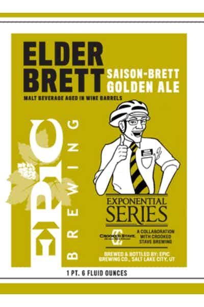 Epic Brewing Elder Brett Golden Ale