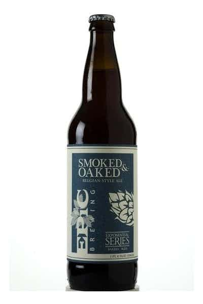 Epic Smoked & Oaked Belgian Style Ale