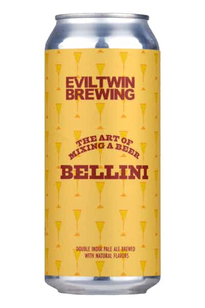 Evil Twin The Art of Mixing A Beer: Bellini
