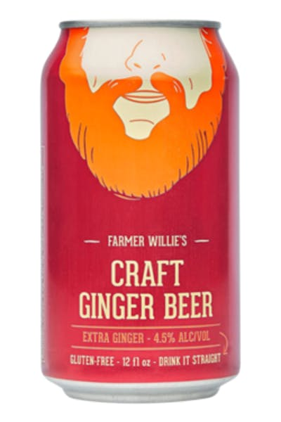 Farmer Willie's Extra Ginger Ginger Beer
