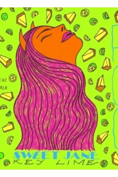 Fat Orange Cat Sweet Jane Key Lime
