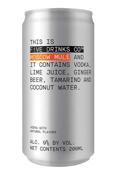 Five Drinks Co. Moscow Mule