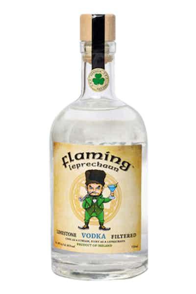Flaming Leprechaun Limestone Vodka