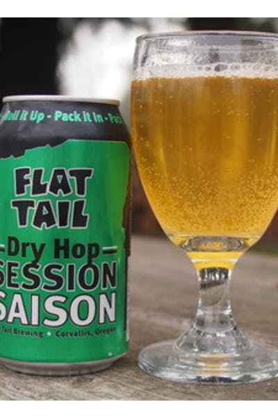 Flat Tail Little Green Dry Hop Session Saison