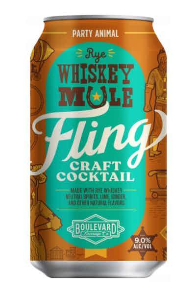 Fling Rye Whiskey Mule