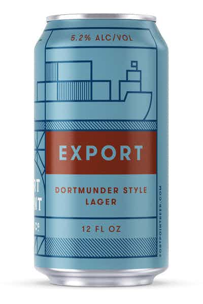 Fort Point Export Lager