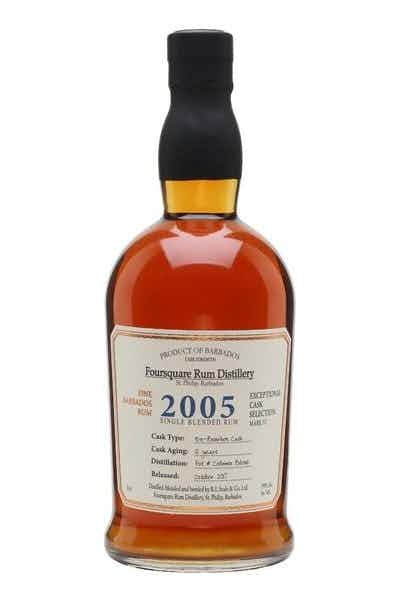 Foursquare Single Blended Rum 2005