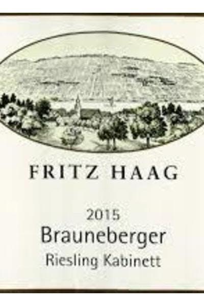 Fritz Haag Brauneberger Kabinett Riesling 2015