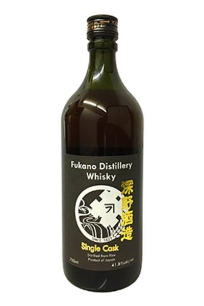 Fukano Distillery Japanese Whisky 83.4 Proof