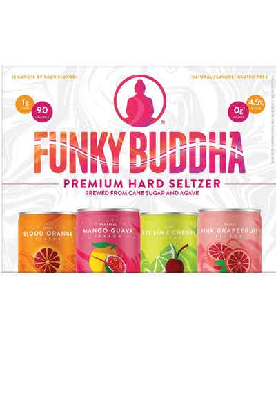 Funky Buddha Premium Hard Seltzers Variety Pack Spiked Sparkling Water
