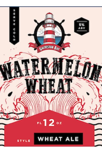 Galveston Bay Watermelon Wheat Ale