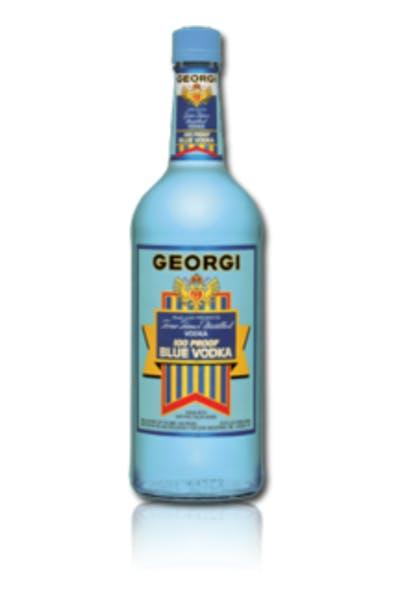 Georgi Blue 100 Proof Vodka