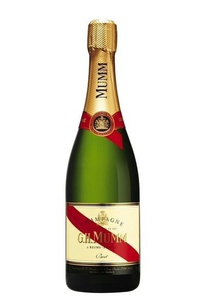 G.H. Mumm Cordon Rouge Champagne (Half Bottle)