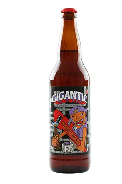 Gigantic Pipewrench Gin Barrel Aged Double IPA