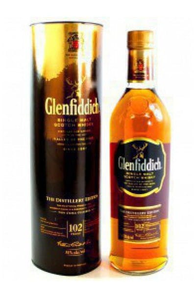 Glenfiddich Scotch 15 Year Distillery Edition
