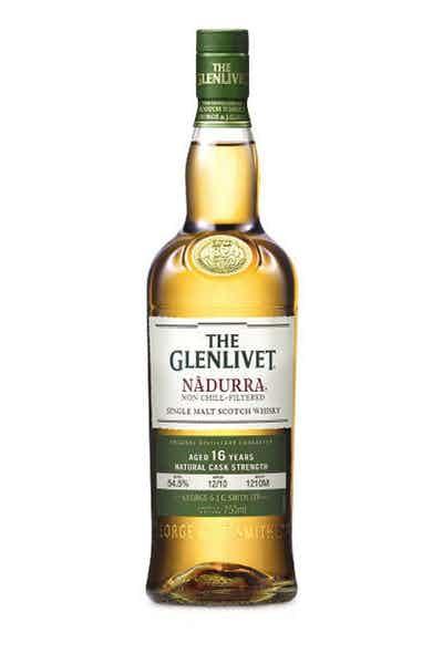 Glenlivet Nadura 16 Year Scotch