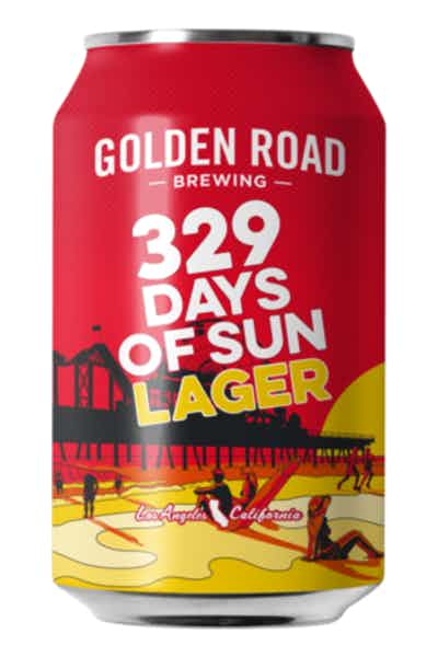 Golden Road Brewing 329 Days of Sun Lager