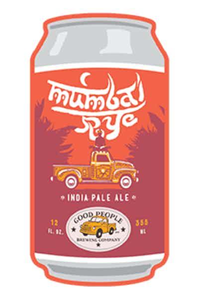 Good People Mumbai Rye IPA