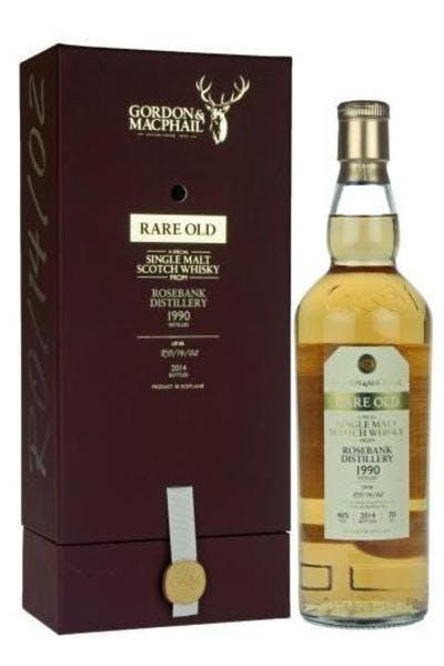 Gordon & Macphail Rare Old from Rosebank Distillery 1990