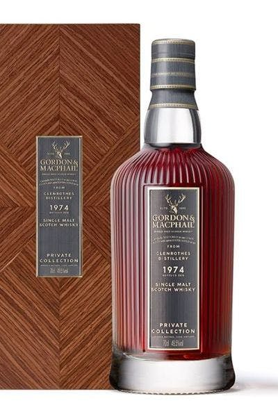 Gordon & Macphail The Private Collection Speyside Single Malt Scotch Whiskey 40 Years