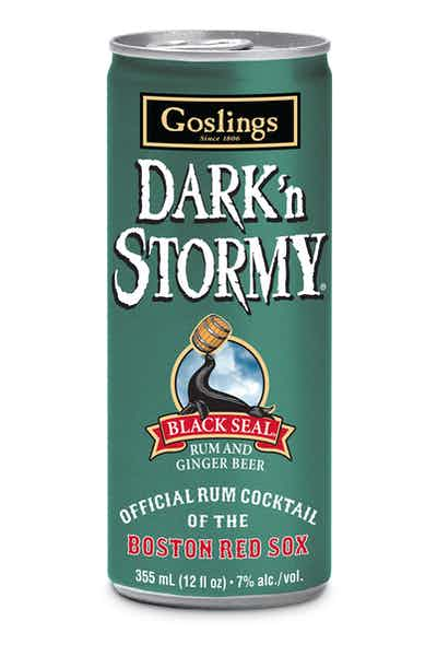 Goslings Ready to Drink Dark 'n Stormy Cocktail Red Sox Edition