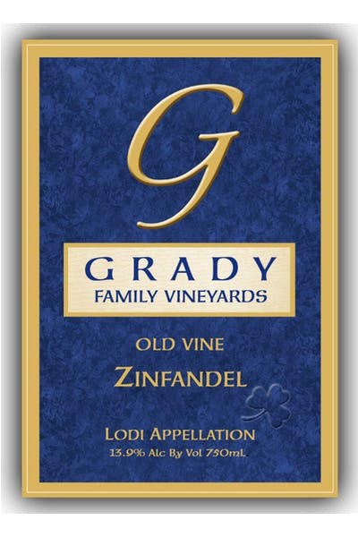Grady Family Winery Old Vine Zinfandel