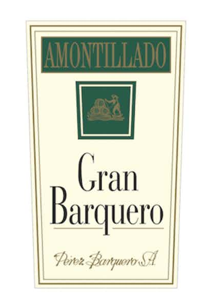 Gran Barquero Amontillado 750mL