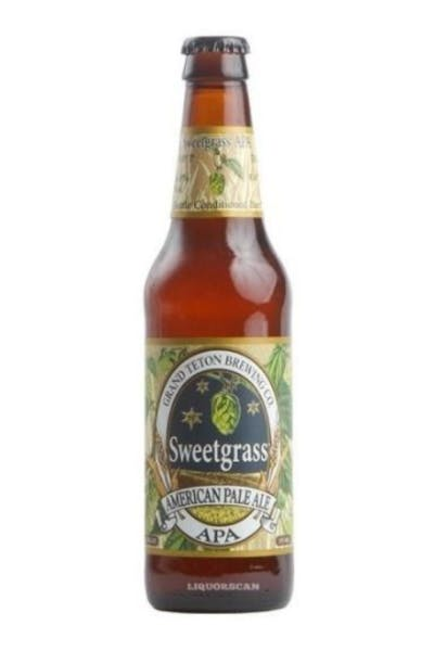 Grand Teton Sweetgrass American Pale Ale