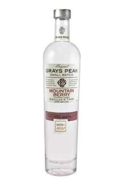 Grays Peak Mountain Berry Vodka
