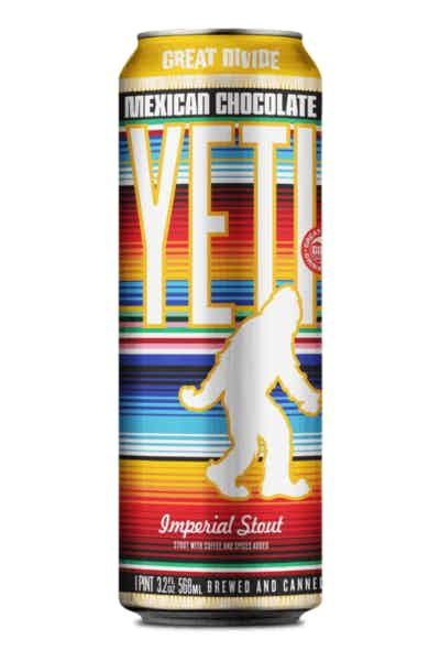 Great Divide Yeti Mexican Chocolate Imperial Stout