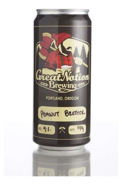 Great Notion Brewing Peanut Brother Stout