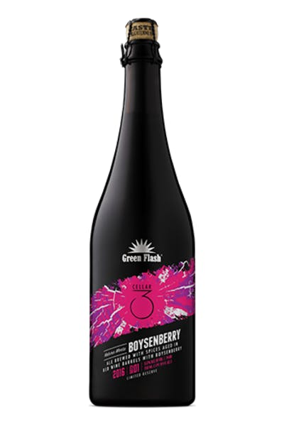 Green Flash Natura Morta Boysenberry