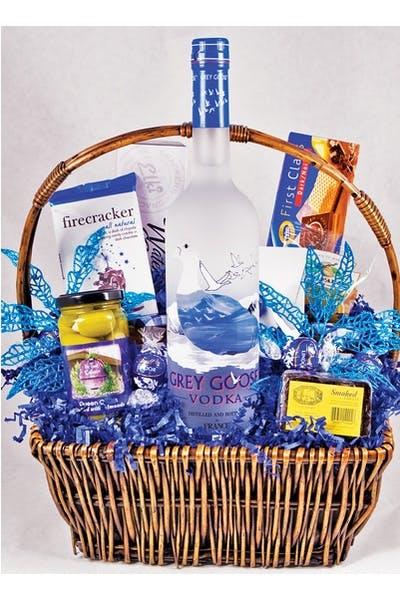 Grey Goose Gift Basket