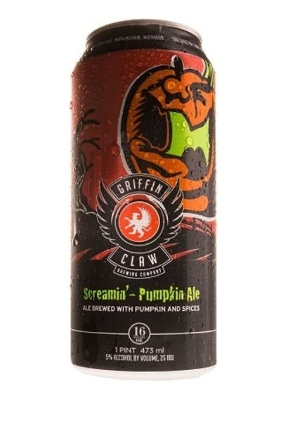 Griffin Claw Screamin Pumpkin Ale