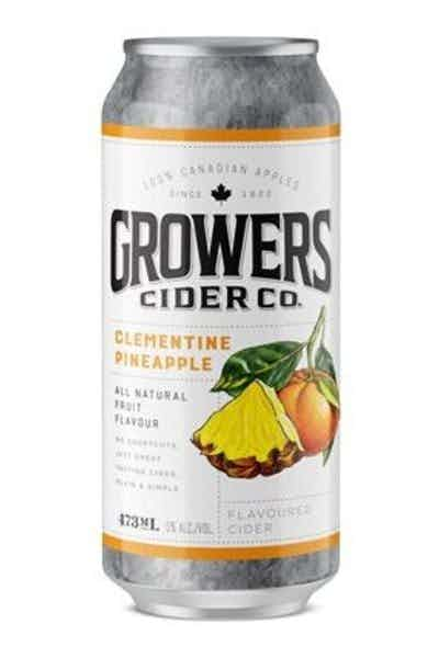 Growers Clementne Pineapple Cider