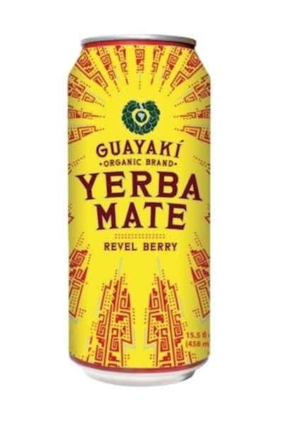 Guayaki Yerba Mate Revel Berry