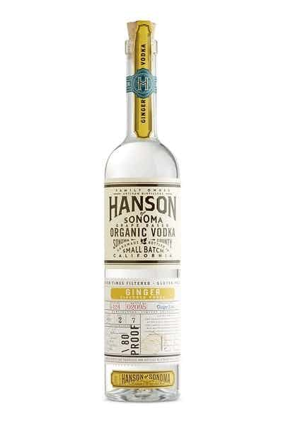 Hanson of Sonoma Organic Ginger Vodka