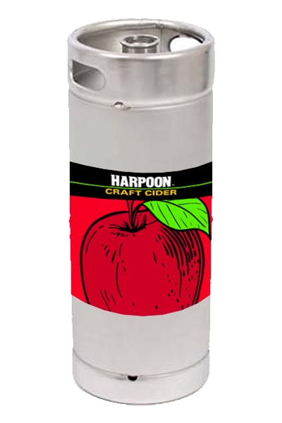 Harpoon Apple Cider 1/6 Keg