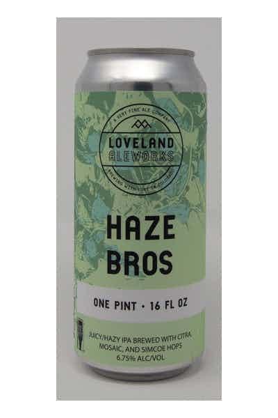 Loveland Aleworks Haze Bros - Hazy IPA