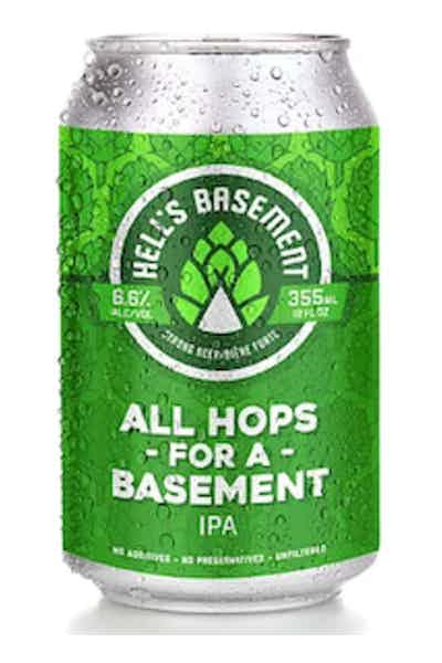 Hell's Basement All Hops For A Basement IPA