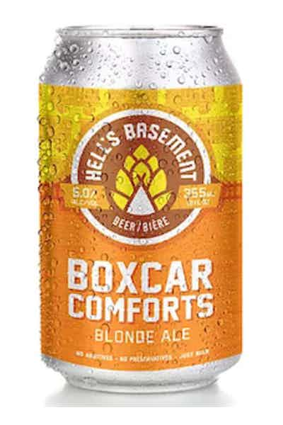 Hell's Basement Boxcar Comforts Blonde Ale
