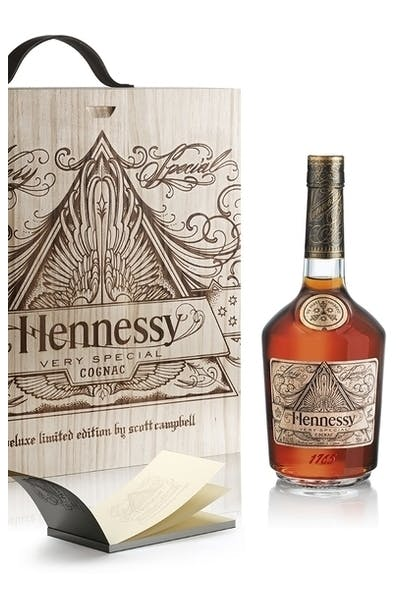 Hennessy V.S Limited Edition by Scott Campbell