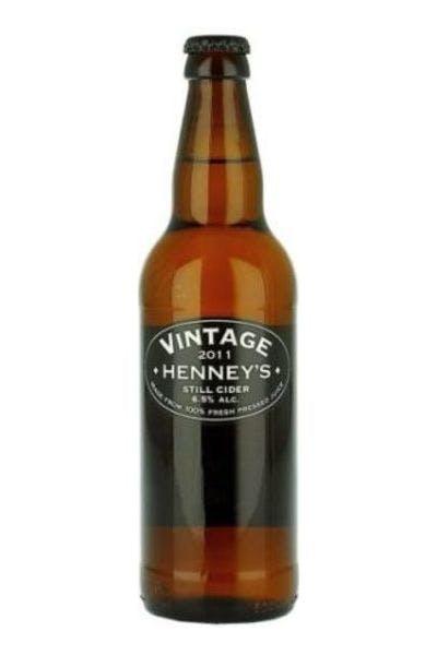 Henneys Vintage Still Cider
