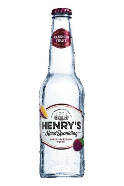 Henrys Hard Passion Fruit Sparkling Water