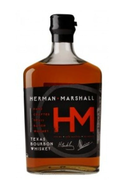 Herman Marshall Texas Bourbon